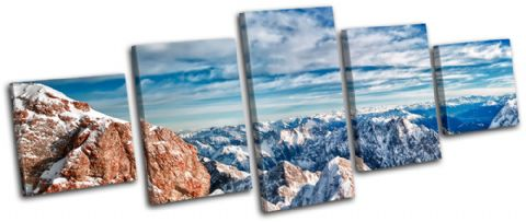 Snowy Mountain Germany Landscapes - 13-0497(00B)-MP07-LO